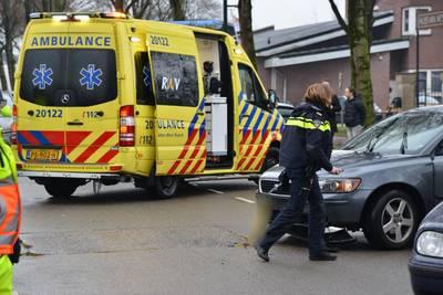 Aanrijding tussen scooter en auto in Breda