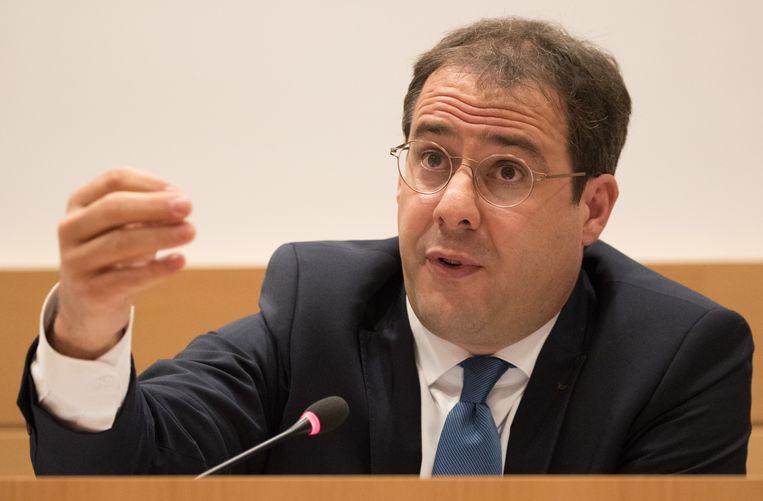 Minister van Begroting David Clarinval (MR)