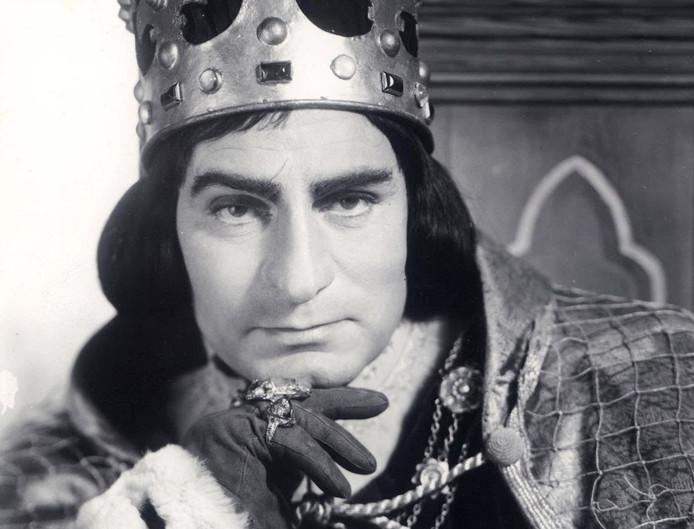 Laurence Olivier als Richard III.