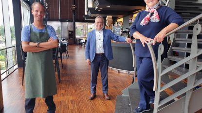 """Brasserie Link 21 verwelkomt eerste gasten: """"Van 140 naar 90 zitplaatsen"""""""