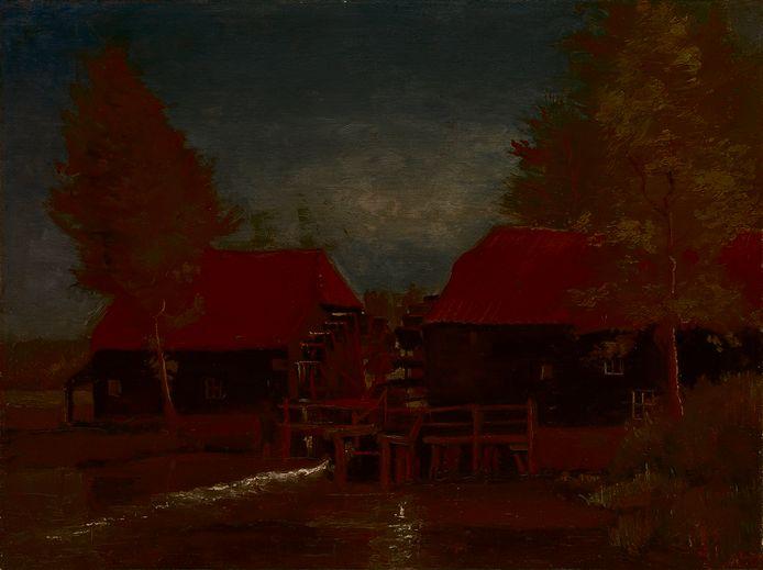 Het schilderij van de Collse watermolen is binnenkort te bezichtigen in Den Bosch.