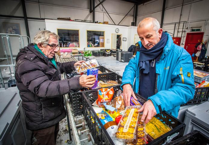 Maar 80 procent van de huishoudens dat recht heeft op een voedselpakket komt langs.