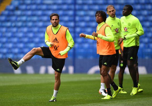 Loïc Rémy (r) verhuist naar Crystal Palace