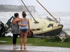 Amy uit Oosterhout zat in cycloon Debbie: 'De vibraties kwamen via de vloer en muren omhoog'