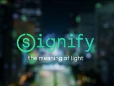 Philips Lighting is voortaan Signify