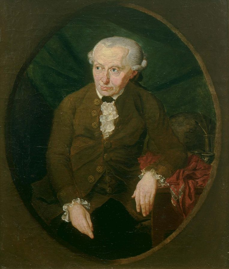 Immanuel Kant, de held van Floris Cohen. Beeld getty