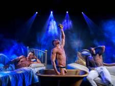 Strippende mannen en gillende vrouwen in Theaterhotel in Almelo