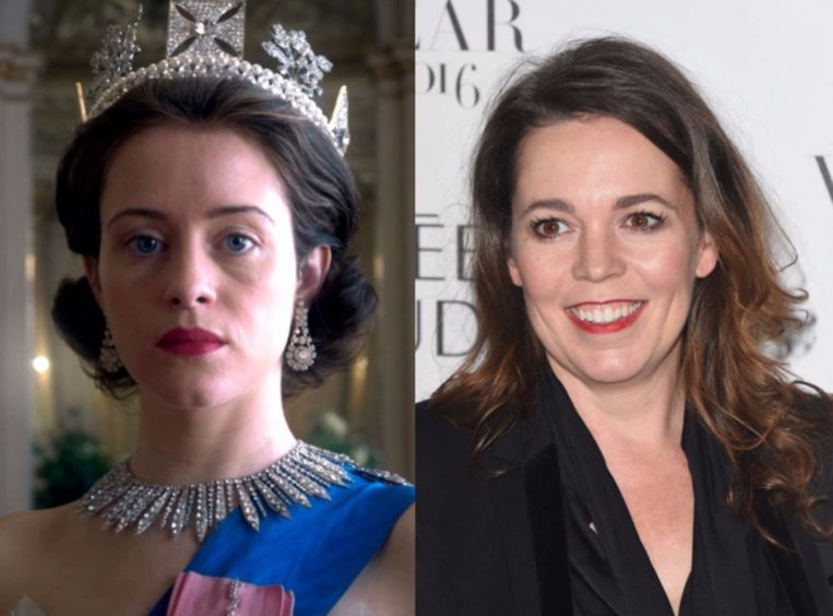 Claire Foy wordt vervangen door Oscar-winnares Olivia Colman.