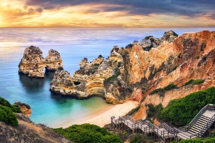 La Praia Dona Ana, à Lagos (Algarve)