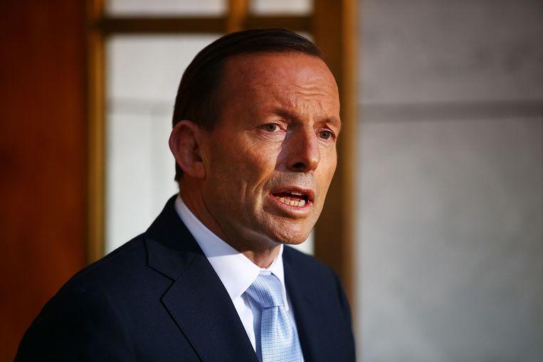 Tony Abbott Beeld getty