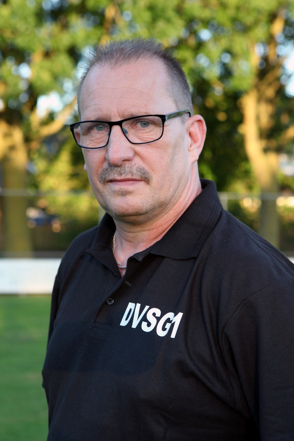 Tonnie Heijmans, nu nog trainer van DVSG.