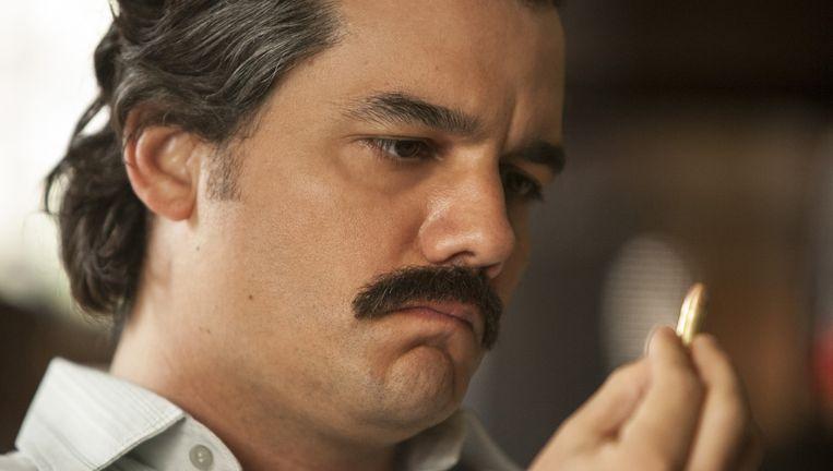 Wagner Moura als Pablo Escobar. Beeld Netflix