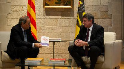 """Jambon en Catalaanse president roepen EU op om """"integratie nieuwe onafhankelijke staten makkelijker te maken"""""""