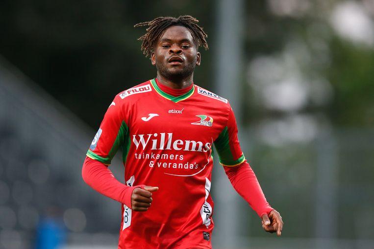 Aristote Nkaka wordt momenteel door RSC Anderlecht uitgeleend aan KV Oostende.