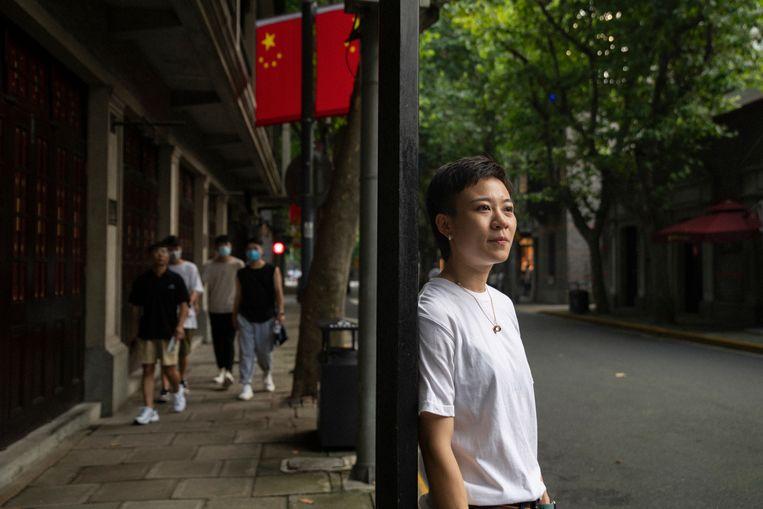 Li Butian in Shanghai: 'In China is de trend opwaarts, dan is het makkelijk om mee te stijgen.' Beeld Matjaz Tancic