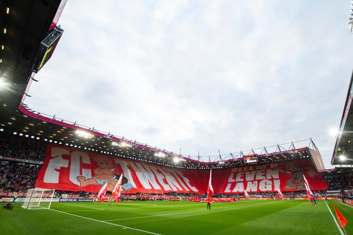 Rentree van FC Twente in de Eredivisie.