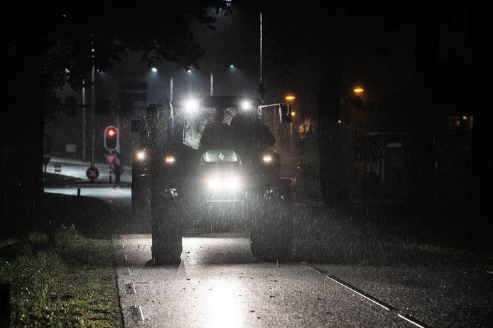 Boeren gaan weer vroeg op pad, woensdag, om actie te voeren tegen de stikstofmaatregelen.