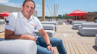 Simon heropent zomerbar Absolut Beach op site Santens in Oudenaarde