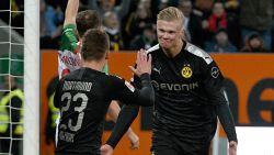 """Tienersensatie Haaland heeft maar 20 minuten nodig voor eerste hattrick in Dortmund-shirt: """"Een droomdebuut"""""""