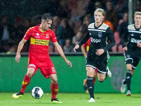 Ook grote namen Jong Ajax krijgen GA Eagles niet omver in eigen huis
