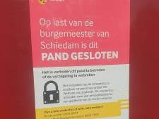 Illegale seksinrichting in Schiedam ontdekt, pand voorlopig gesloten