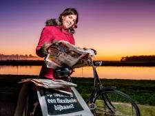 Krantenbezorger Jessica (30) staat bijna iedere nacht om 04.00 uur op: 'Ik zie bijzondere dingen'