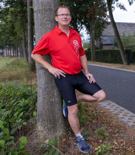 Barry Smetsers uit Spoordonk klaar voor mega-marathon