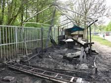 Brand en vernielingen bij paintballcentrum in Nijmegen