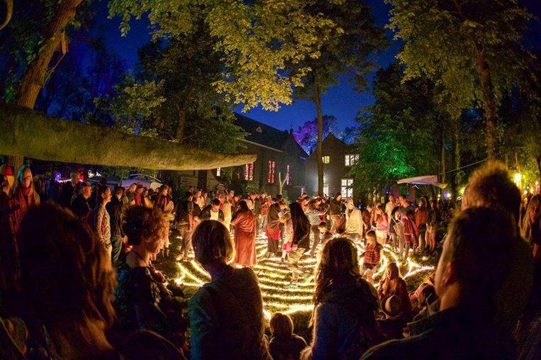 Het kunstenaarsdorp Ruigoord wordt omgetoverd tot camping voor jong en oud Beeld Peter van Bergen Henegouwen