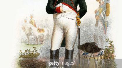 Napoleontische bivak in het park van Rufferdinge