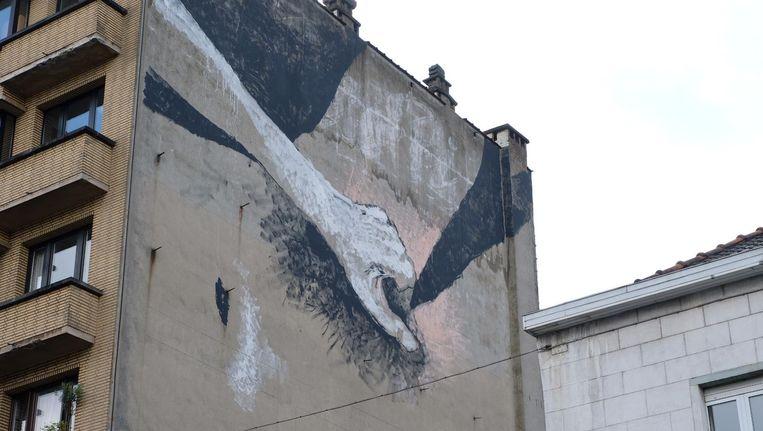 Nu ook masturberende vrouw op gevel in brussel en alle andere aanstootgevende tekeningen - Nieuw muurschildering ...