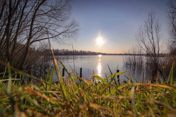 Natuurgebied de Verdronken Weide.