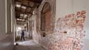 Restanten van een muur uit 1420 zijn gevonden in het complex Mariënhage in Eindhoven. Dat wordt momenteel omgebouwd tot ceremoniehuis, hotel en conferentiecentrum.