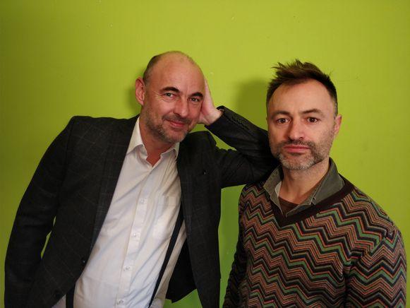Een les in volhouden: na tegenslagen met kinderanimatiefilm 'ZOOks' werkt Kristoff Leue  (links) aan een nieuw filmproject.