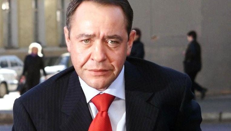 Michail Lesin in 2002 Beeld reuters