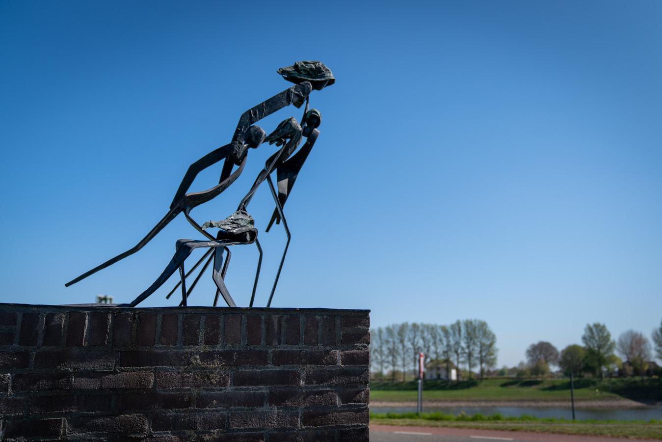 'De Vlucht' in Doornenburg.
