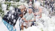 Laatste wens van Lily (104) gaat in vervulling: nog één keer sneeuw zien