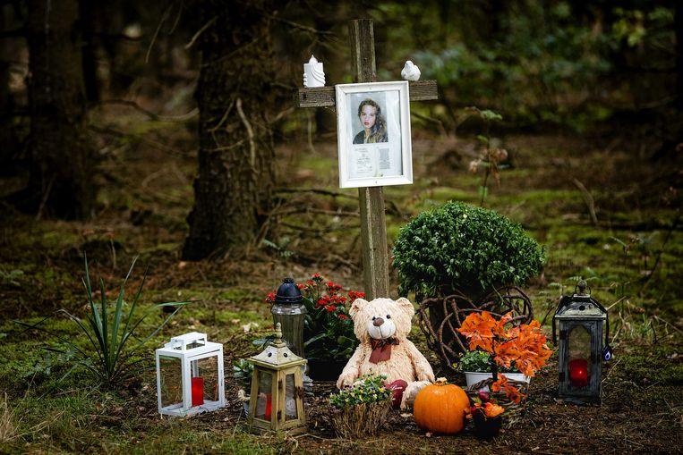 De vindplek van het lichaam van Nicole van den Hurk. Op 22 november 1995 werd haar lichaam gevonden.  Beeld ANP