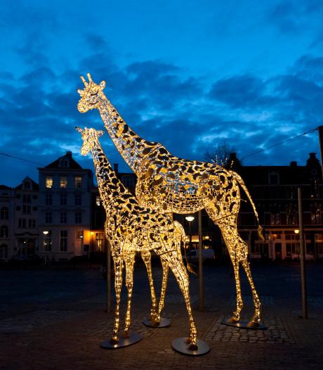 Liever lichtfiguren bekijken in Deventer dan 'bankhangen'