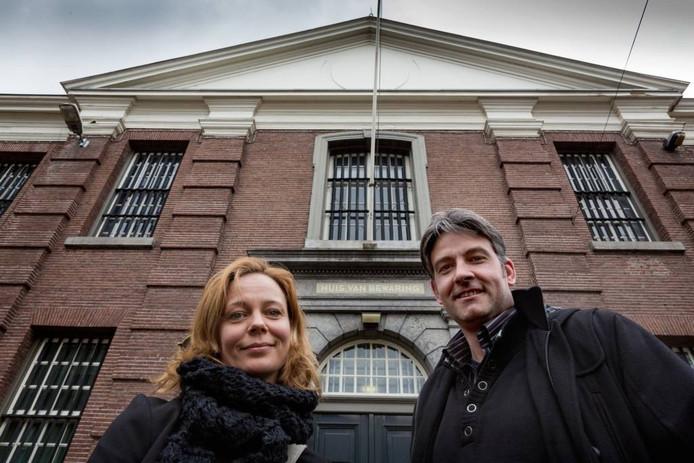 Kirsti Pol en Michael Bol willen in het voormalig Huis van Bewaring een hotel beginnen