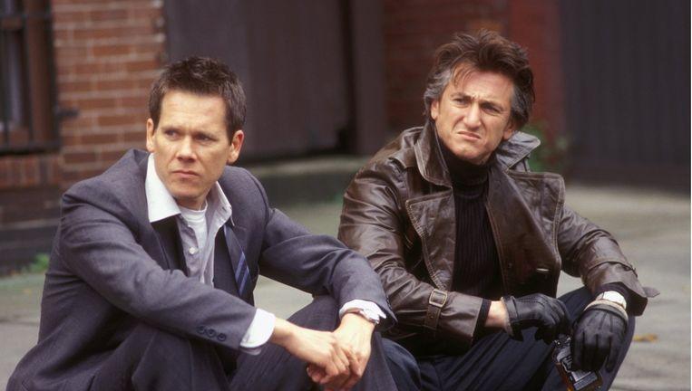 Mystic River met Kevin Bacon en Sean Penn. Beeld -