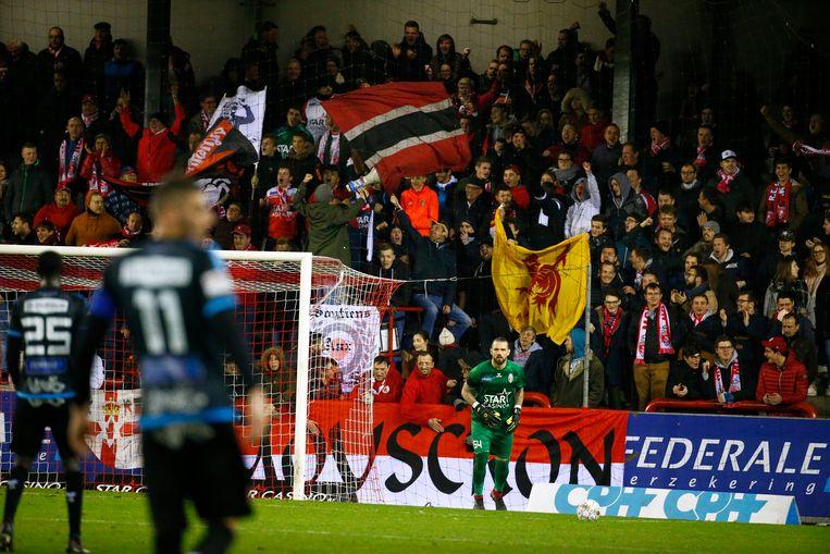 Beeld uit Moeskroen - KV Kortrijk.