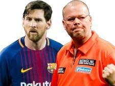 Van Barneveld naar Spanje voor ontmoeting met Messi