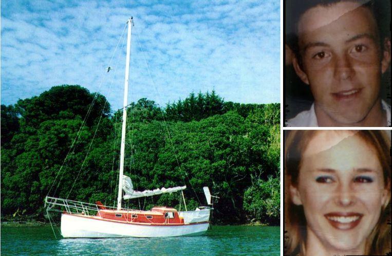 Ben Smart en Olivia Hope zouden van deze boot verdwenen zijn.