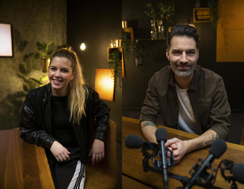Bab Buelens en Sean Dhondt presenteren 'Naspel', het nieuwe napraatprogramma van 'Blind Getrouwd'