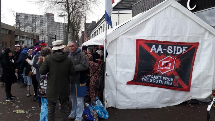 Helmond Sport bij de optocht in Helmond
