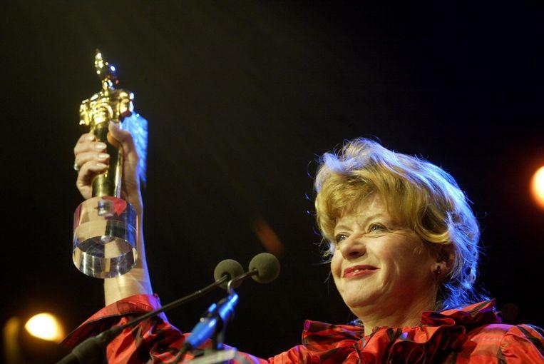Laseur won in 2002 Het Gouden Beeld. Beeld ANP