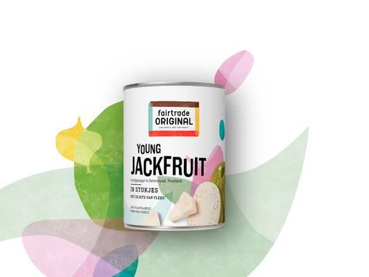 Je koopt Fairtrade Original Young Jackfruit in blik bij jouw Albert Heijn in het schap bij de peulvruchten of online via ah.nl