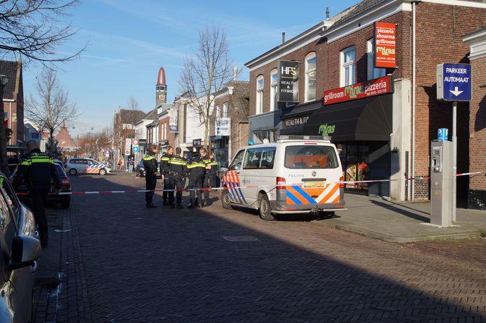 Politie lost waarschuwingsschot in Waalwijk