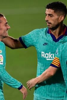 Barça wint simpel dankzij assists Messi en wereldgoals Griezmann en Suarez